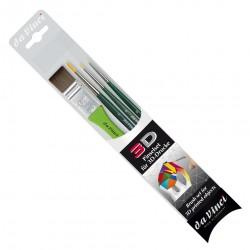 Brushes DA VINCI 5203 set of 4 pieces