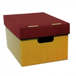 Box with lid for A4 23x32x18cm