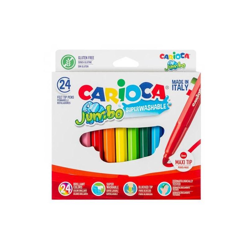 Μαρκαδόροι ζωγραφικής CARIOCA SUPER MAXI 41569 12 τεμάχια