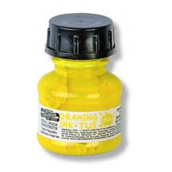 Σινική μελάνη KOH-I-NOOR 20ml κίτρινη