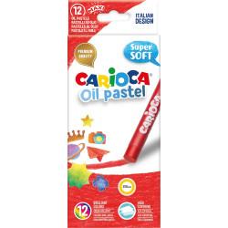 Λαδοπαστέλ CARIOCA σετ 12 τεμαχίων
