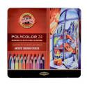 Μολύβια ζωγραφικής POLYCOLOR 24