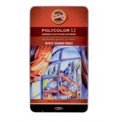 POLYCOLOR Painting Pencils 12