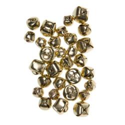 Κουδουνάκια χειροτεχνίας χρυσά LUNA mix 601641