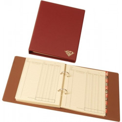 17x22cm accounting binder