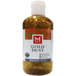 GLITTER GEL GOLD DUST 250ml