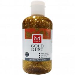 GLITTER GEL GOLD DUST 250ml