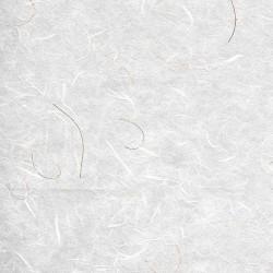 Ριζόχαρτο με χρυσές ίνες 50x70cm λευκό