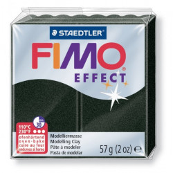 Πηλός FIMO EFFECT  57gr PEARL BLACK 907