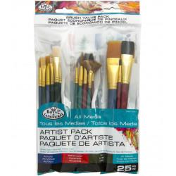 Πινέλα ζωγραφικής ROYAL RSET-9387 σετ 25 τεμαχίων