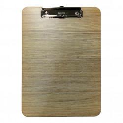 Πινακίδα με πιάστρα ξύλινη Α4