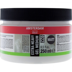 GEL MEDIUM EXTRA HEAVY TALENS AMSTERDAM 022 MAT