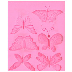 SILICONE MOULD BUTTERFLIES...