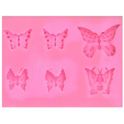 BUTTERFLY 10800 Silicone Mould