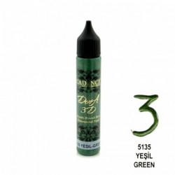 Perlen pen DORA 3D CADENCE 5135 green