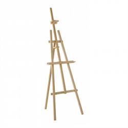 LYRA wooden exhibition easel, unassembled