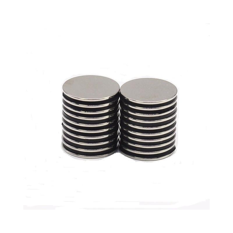 Μαγνήτες στρογγυλοί 20mmx1mm σετ 15 τεμαχίων