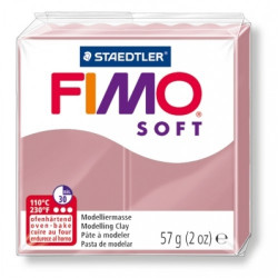 Πηλός FIMO SOFT 56gr ROSE No21
