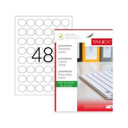 Sticky labels round 30mm,...