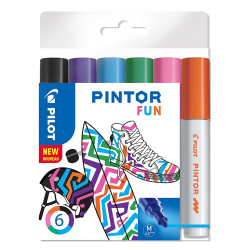 PILOT PINTOR FUN PAINT MARKER MEDIUM