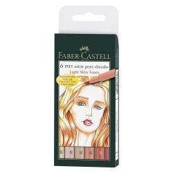 Painting markers FABER CASTELL SKIN TONS 167162