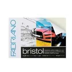Μπλοκ FABRIANO BRISTOL A4, 20φ 250gr