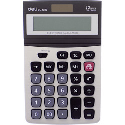 Αριθμομηχανή DELI 1222
