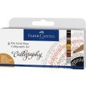 FABER CASTELL PITT ARTIST PENS CALLIGRAPHY SET 167508
