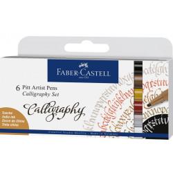 FABER CASTELL PITT ARTIST PENS CALLIGRAPHY SET 167506