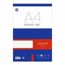 Stapled Pad A4 50 sheets...