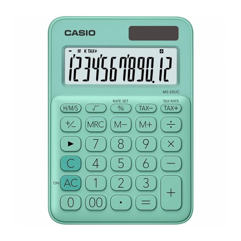 Αριθμομηχανή CASIO MS-20UC-GN