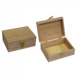 Κουτάκι ξύλινο 10x13,5x5,5cm 24183