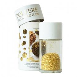 Βρώσιμα φύλλα χρυσού σε σκόνη, 23K