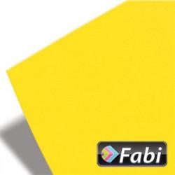 Χαρτόνι 50x70 FABI 220gr, έντονο κίτρινο