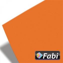 Χαρτόνι 50x70 FABI 220gr, πορτοκαλί