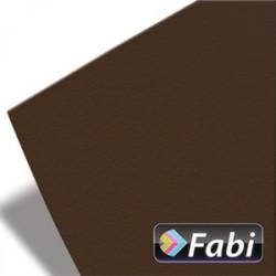 Χαρτόνι 50x70 FABI 220gr, καφέ