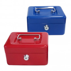 Safe with Coin Box B-R 11x15cm RED