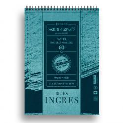 Μπλοκ INGRES BLUES FABRIANO A4, 60 φύλλων