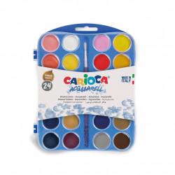 Watercolors CARIOCA 24 colors