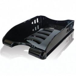 Office tray plastic black...