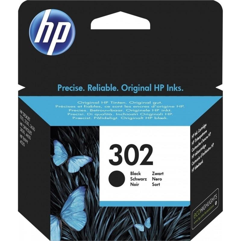Μελάνι HP 302 BLACK