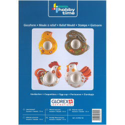 GLOREX Moulds 6979450 EGG CUP