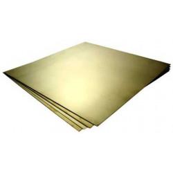 Φύλλο ορείχαλκου 30x40 cm πάχους 0,5mm