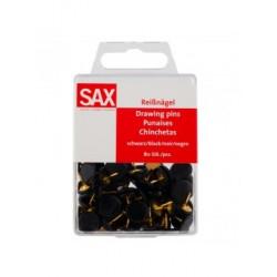 Black SAX 811-07 Black Pins