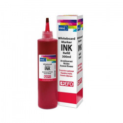 EFO 300ml red table marker ink