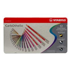 Μολύβια STABILO CARBOTHELO σετ 12 τεμαχίων