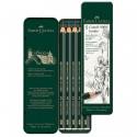 Σετ 5 μολύβια σκληροτήτων JUMBO FABER-CASTELL 9000, 119305