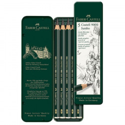 Set of 5 toughpencils JUMBO...