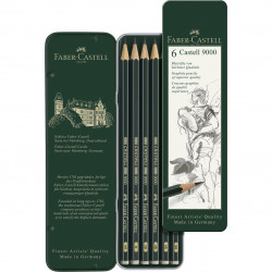 Set of 6 FABER-CASTELL 9000...