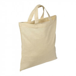Fabric bag with short...